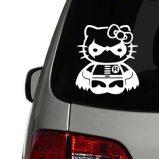 Hello Kitty Robin Vinyl Decal