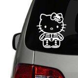Hello Kitty Xray Vinyl Decals