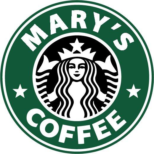 Custom Starbucks Logo Vinyl Decal - Custom logo vinyl decals