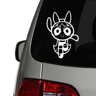 Powderpuff Girls Blossom Vinyl Decal