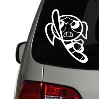 Powderpuff Girls Bubbles Vinyl Decal