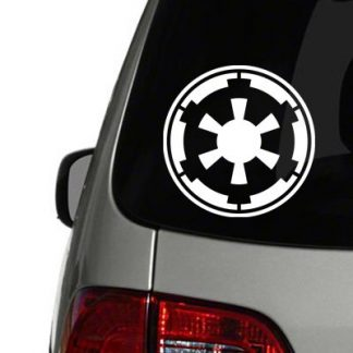galactic empire vinyl decal