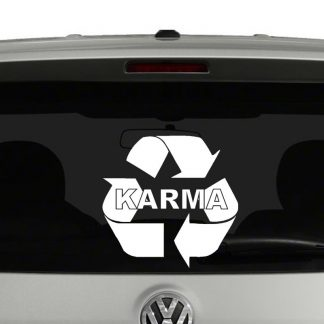 Karma Vinyl Decal