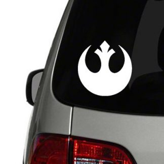 rebel alliance logo vinyl decal