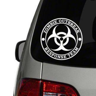zombie response team vinyl decal
