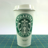Starbucks 16oz Reusable Cup With Custom Vinyl