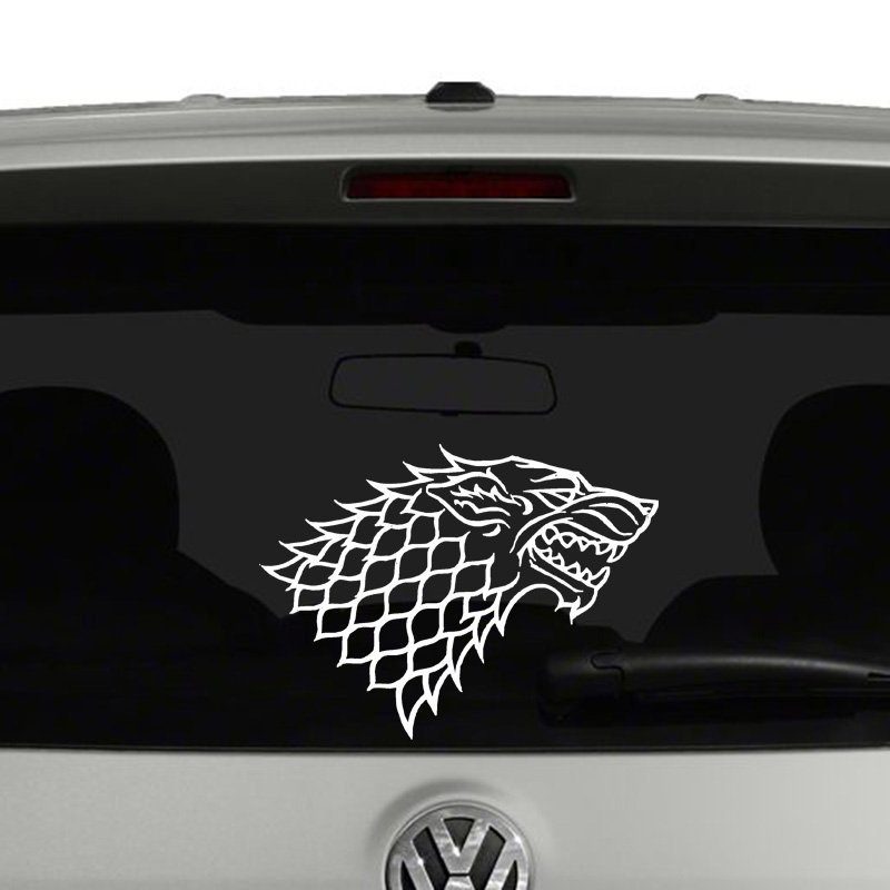 Game of Thrones House Stark Vinyl Decal