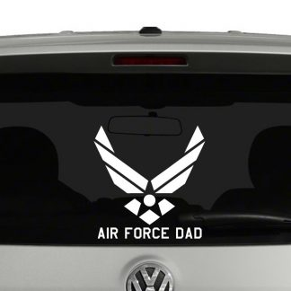 United States Air Force Dad Vinyl Decal