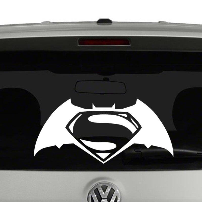 Vs Batman Logo Vinyl Decal - Batman vinyl decal stickers