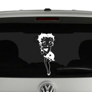 Betty Boop Vinyl Decal
