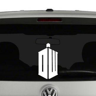 Doctor Who Logo Vinyl Decal