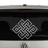 Endless Knot Vinyl Decal