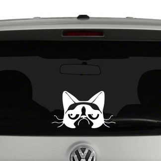 Grumpy Cat Vinyl Decal