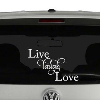 Live Love Laugh Vinyl Decal