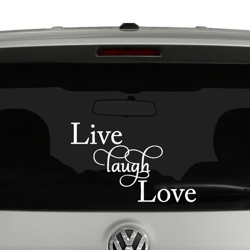 Live Love Laugh Vinyl Decal