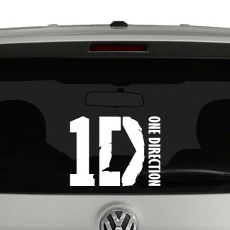 One Direction Vinyl Decal