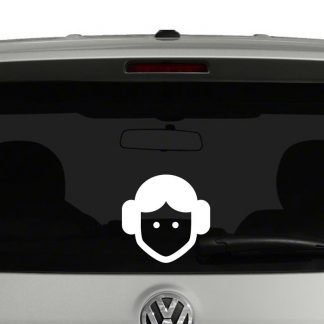 Star Wars Princess Leia Vinyl Decal