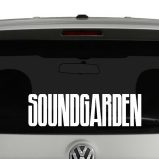 Soundgarden Logo Vinyl Decal