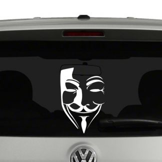 V for Vendetta Vinyl Decal