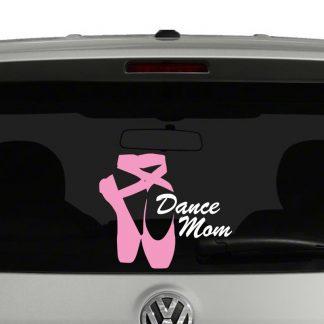 Dance Mom Ballet Shoes Vinyl Decal