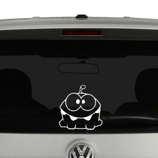 Cut the Rope Om Nom Vinyl Decal