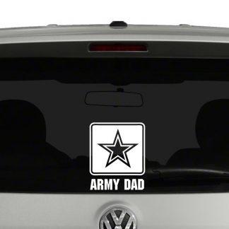 Army Dad Logo Vinyl Decal