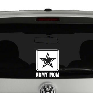 Army Mom Logo Vinyl Decal