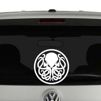 Cthulhu Emblem Vinyl Decal