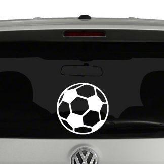 Soccer Ball Vinyl Decal