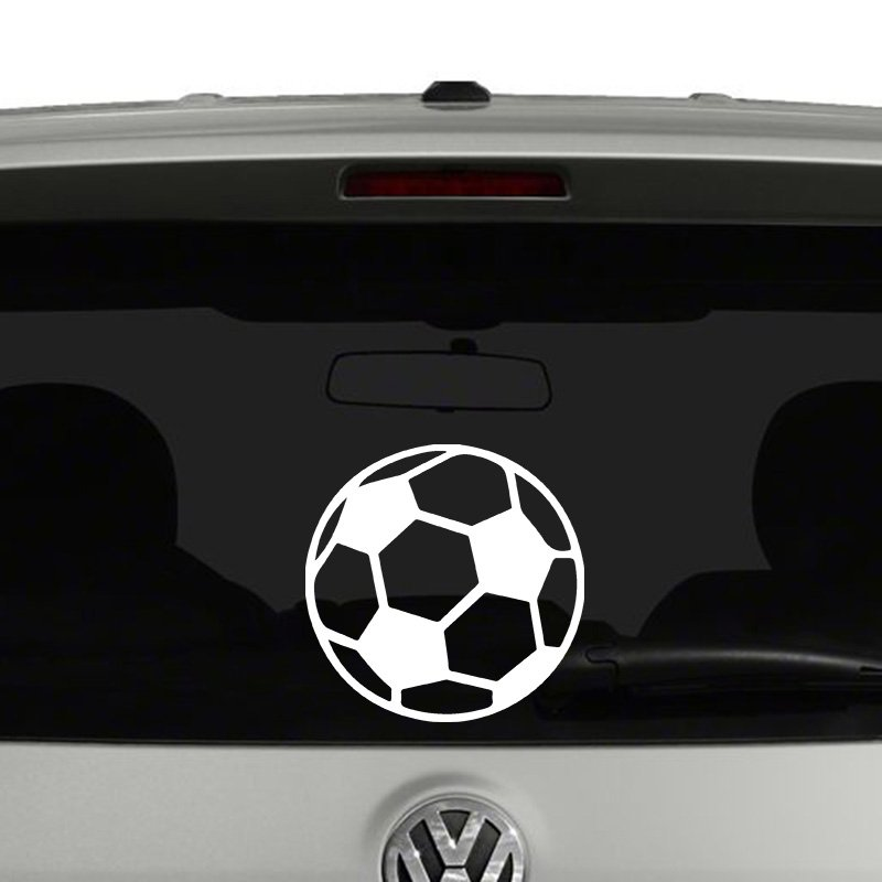 Soccer Ball Vinyl Decal