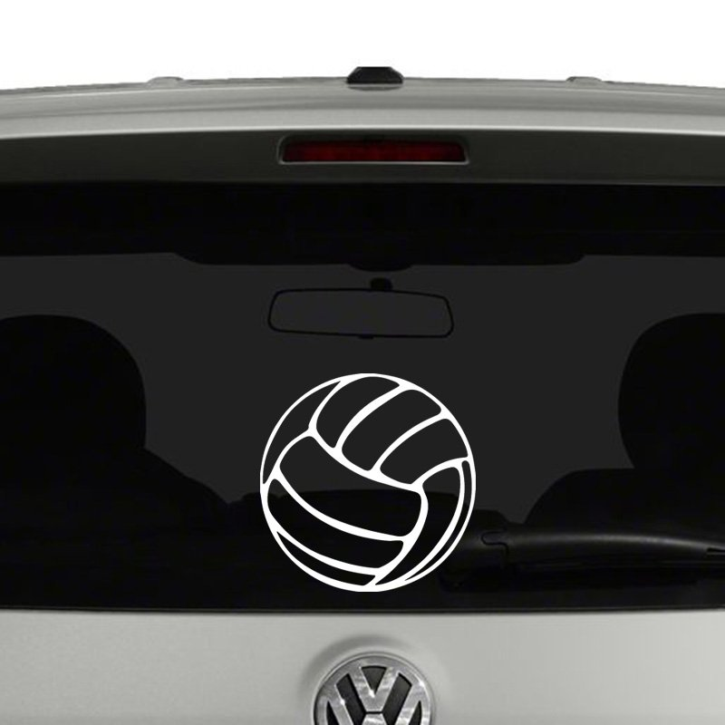 Volleyball Ball Vinyl Decal