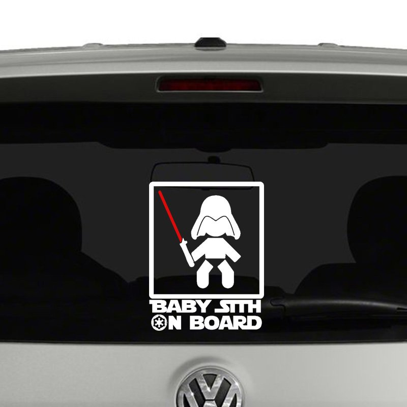 Baby Sith On Board Vinyl Decal