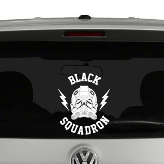 Tie Fighter Black Squadron Vinyl Decal