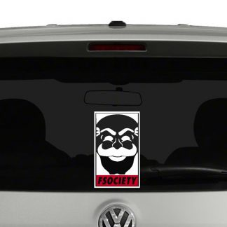 fsociety Mr Robot Inspired Vinyl Decal