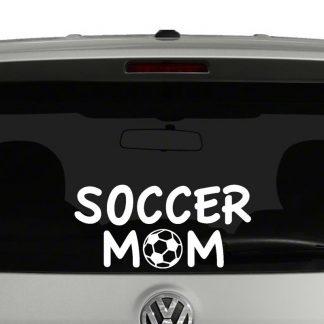 Soccer Mom Vinyl Decal