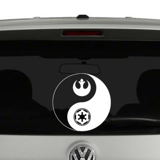 Star Wars Inspired Yin Yang Vinyl Decal