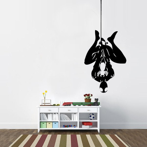 Superieur Hanging Spiderman Vinyl Wall Decal