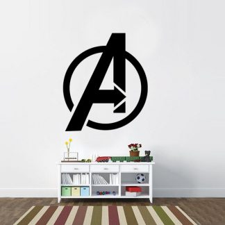 Avengers Logo Vinyl Wall Decal