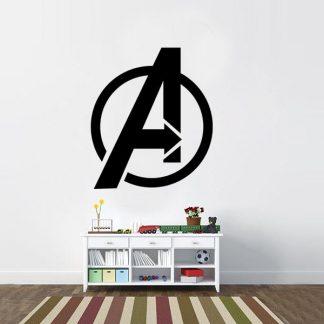 Avengers Symbol Vinyl Wall Decal