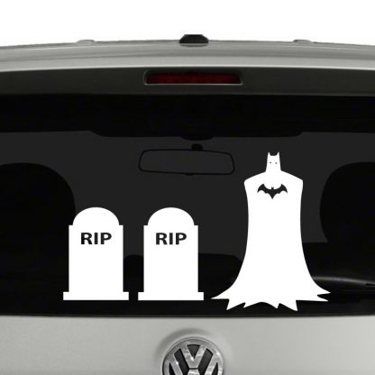 Batman Stick Figure Family Vinyl Decal Sticker