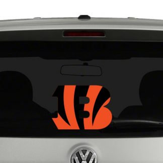 Cincinnati Bengals Vinyl Decal Sticker