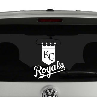Kansas City Royals Vinyl Decal Sticker