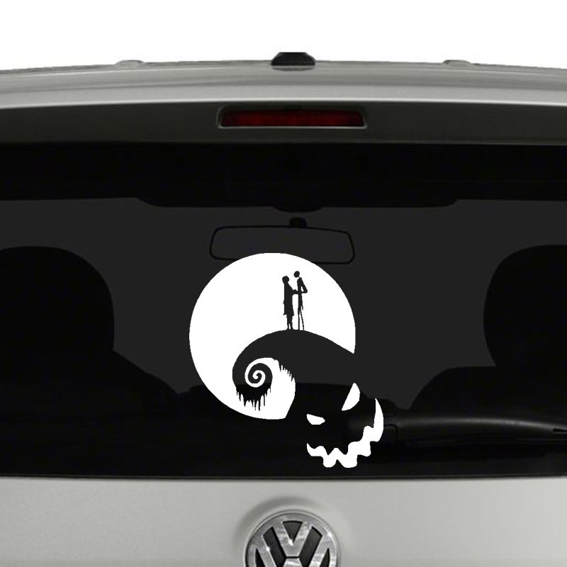 Before Christmas Jack and Sally Vinyl Decal Sticker