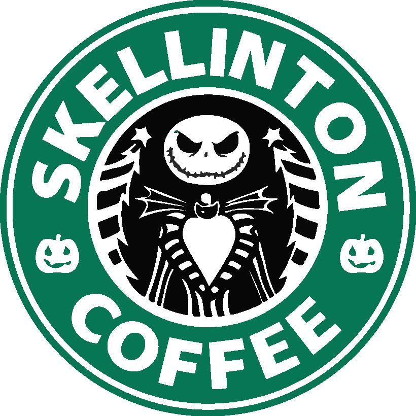 Skellington Coffee Nightmare Before Christmas Starbucks