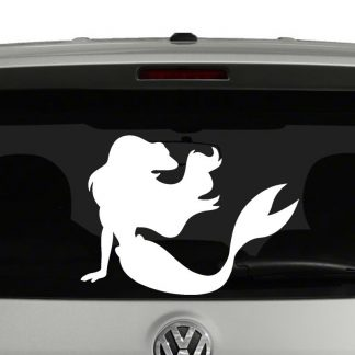 Sexy Mermaid Vinyl Decal Sticker