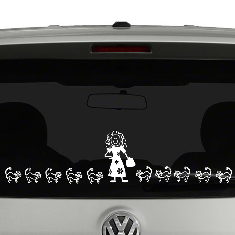 Figure Family Create Your Own Vinyl Decal Sticker Car Window - Vinyl stickers for car windows