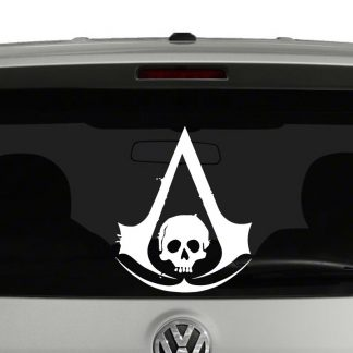 Assassins Creed Black Flag Inspired Vinyl Decal Sticker