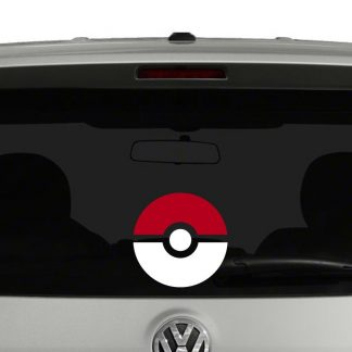 Pokemon Pokeball Vinyl Decal Sticker