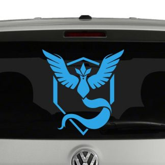Team Mystic Pokemon Inspired Vinyl Decal Sticker