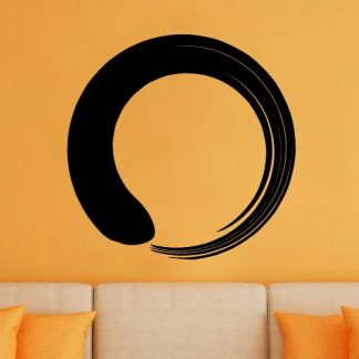 Enso Circle Zen Buddhism Vinyl Wall Decal
